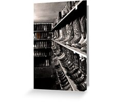 Selected Boots Greeting Card