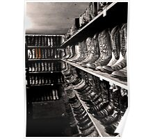 Selected Boots Poster
