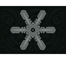 Ornament Snowflake 4 Photographic Print