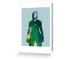 Starbuck - Battlestar Galactica Greeting Card