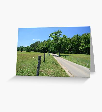 Bright Sunny Day Greeting Card
