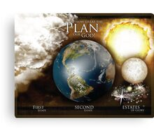 The Plan of Happiness Canvas Print