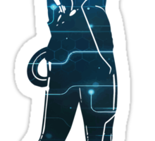 Quorra - Tron Legacy  Sticker