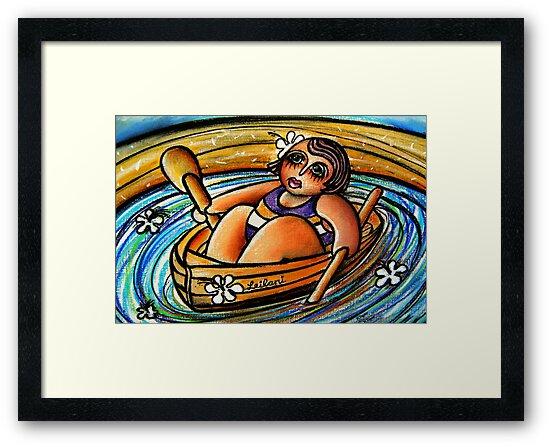 Leilani at Sea by © Karin Taylor