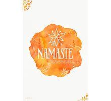 Namaste Mango color Photographic Print