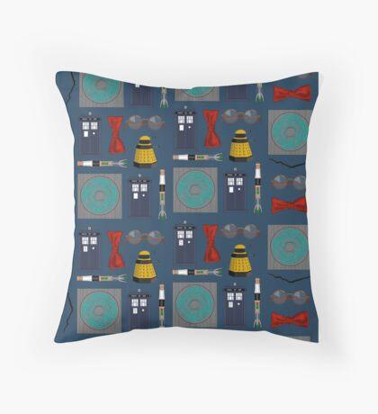 11th Pattern Throw Pillow
