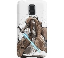 Jedi Knight from Star Wars with calligraphy Samsung Galaxy Case/Skin