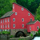 The Old Red Mill by Mary Campbell