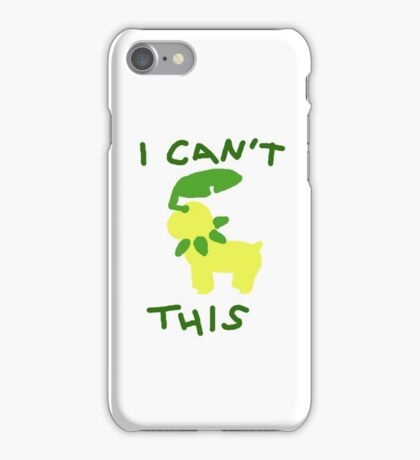 I Can't Bayleef This iPhone Case/Skin