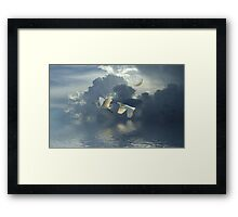 I'm Going Home Framed Print