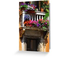 Venice Window Greeting Card