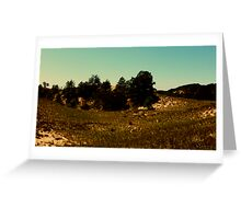 Wide Lens II Greeting Card