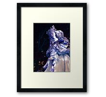 Mary in Blue Framed Print