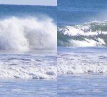 Surfer setting up at Mullaloo by gamo