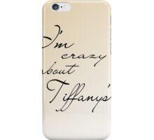 Breakfast at Tiffany's v2 iPhone Case/Skin