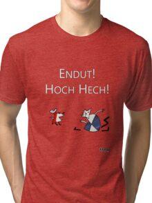 Рабочий И Паразит Tri-blend T-Shirt