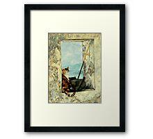 The Dream Voyage Framed Print