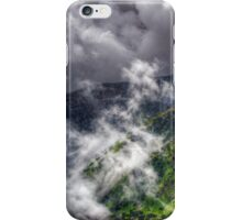 Landscape with Parang mountains in Romania iPhone Case/Skin
