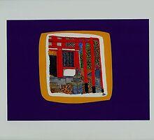 Beyond dualities, the Inari fox shrine-Utsunomiya by FloatingWorld