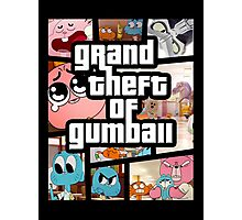 Grand Theft Of Gumball Photographic Print