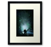 Well Enough Alone Framed Print