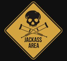 Jackass area caution sign.  by 2monthsoff