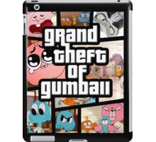 Grand Theft Of Gumball iPad Case/Skin