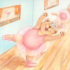 Ballerina Bear by Monica Batiste