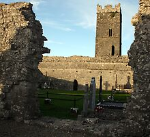 Clare abbey by John Quinn