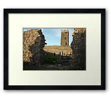 Clare abbey Framed Print