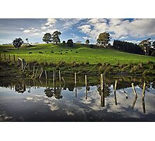 Dam Reflections Photographic Print