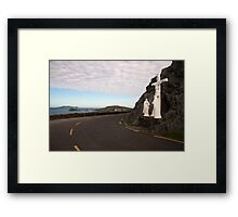 Slea Head grotto Framed Print