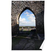 Rath church door view Poster