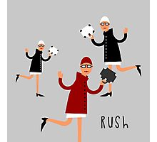 Rush Photographic Print