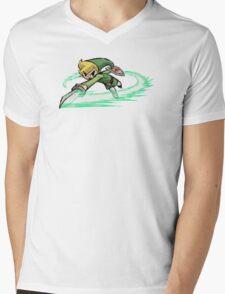 Legend Of Zelda Wind Waker Mens V-Neck T-Shirt