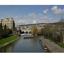 The river avon at Bath Photographic Print