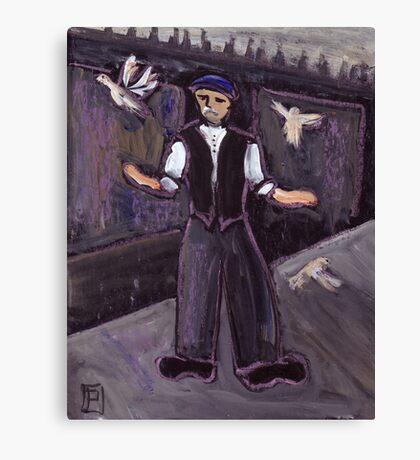 The pidgeon fancier Canvas Print