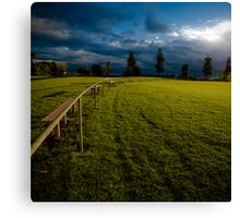 Playing fields 1 Canvas Print