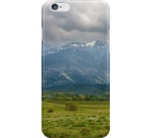 Mountain panorama iPhone Case/Skin