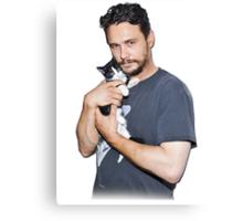 James Franco's Cat Canvas Print
