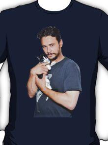 James Franco's Cat T-Shirt