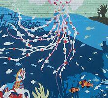 Jellyfish Mural by alexiskins