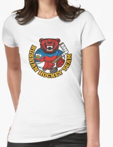 Russian hockey team Womens Fitted T-Shirt