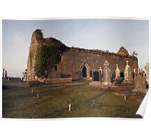 Kilchreest church ruins Poster