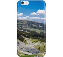 Panorama of lake Calcescu valley iPhone Case/Skin