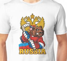Hockey. Russia. Unisex T-Shirt