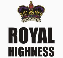 Royal Highness Crown Kids Clothes