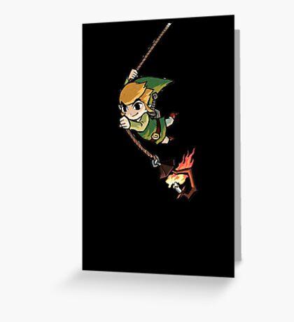 Legend Of Zelda Wind Waker 2 Greeting Card