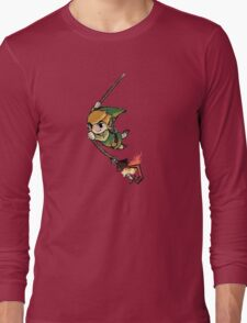 Legend Of Zelda Wind Waker 2 Long Sleeve T-Shirt