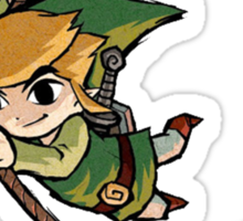 Legend Of Zelda Wind Waker 2 Sticker